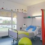 Salle de consultation gynécologique