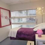 la salle d'acupuncture